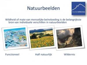 3 types landschappen